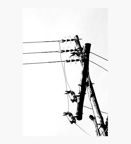Reaching up and somehow reaching Photographic Print