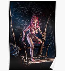 Cyberpunk Painting 091 Poster