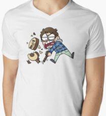 Stream Crash... GUITAR SMASH! V-Neck T-Shirt