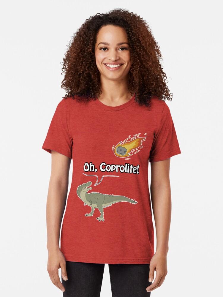 Alternative Ansicht von Oh, Coprolite! Vintage T-Shirt