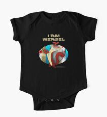 I Am Weasel One Piece - Short Sleeve