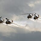 Cobras On The Attack by Jim Haley