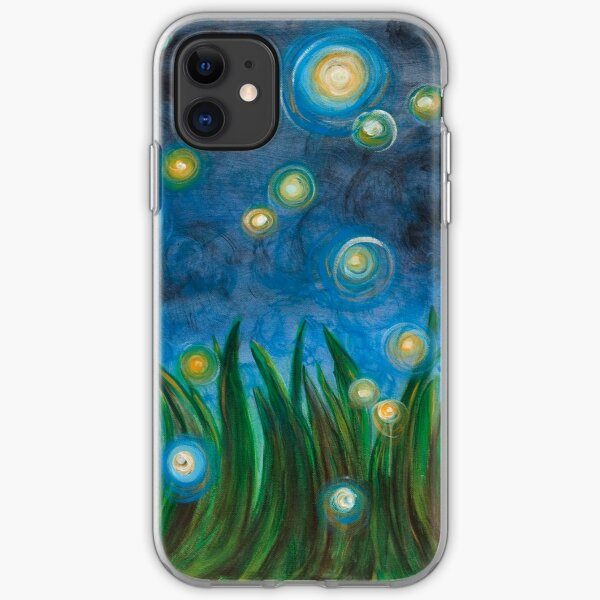 Fireflies iPhone Soft Case