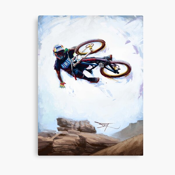 Andreu Lacondeguy at Rampage Canvas Print