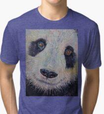 Panda Portrait Tri-blend T-Shirt