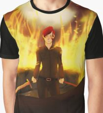 She Watched The World Burn Graphic T-Shirt