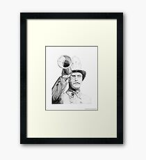 The Fireman Framed Print