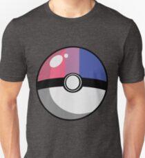 Bi Pride Poké Ball Unisex T-Shirt