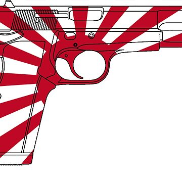 Rising Sun Handgun by cstronner