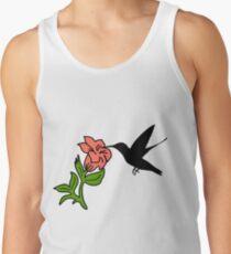 Hummingbirds flowers Tank Top