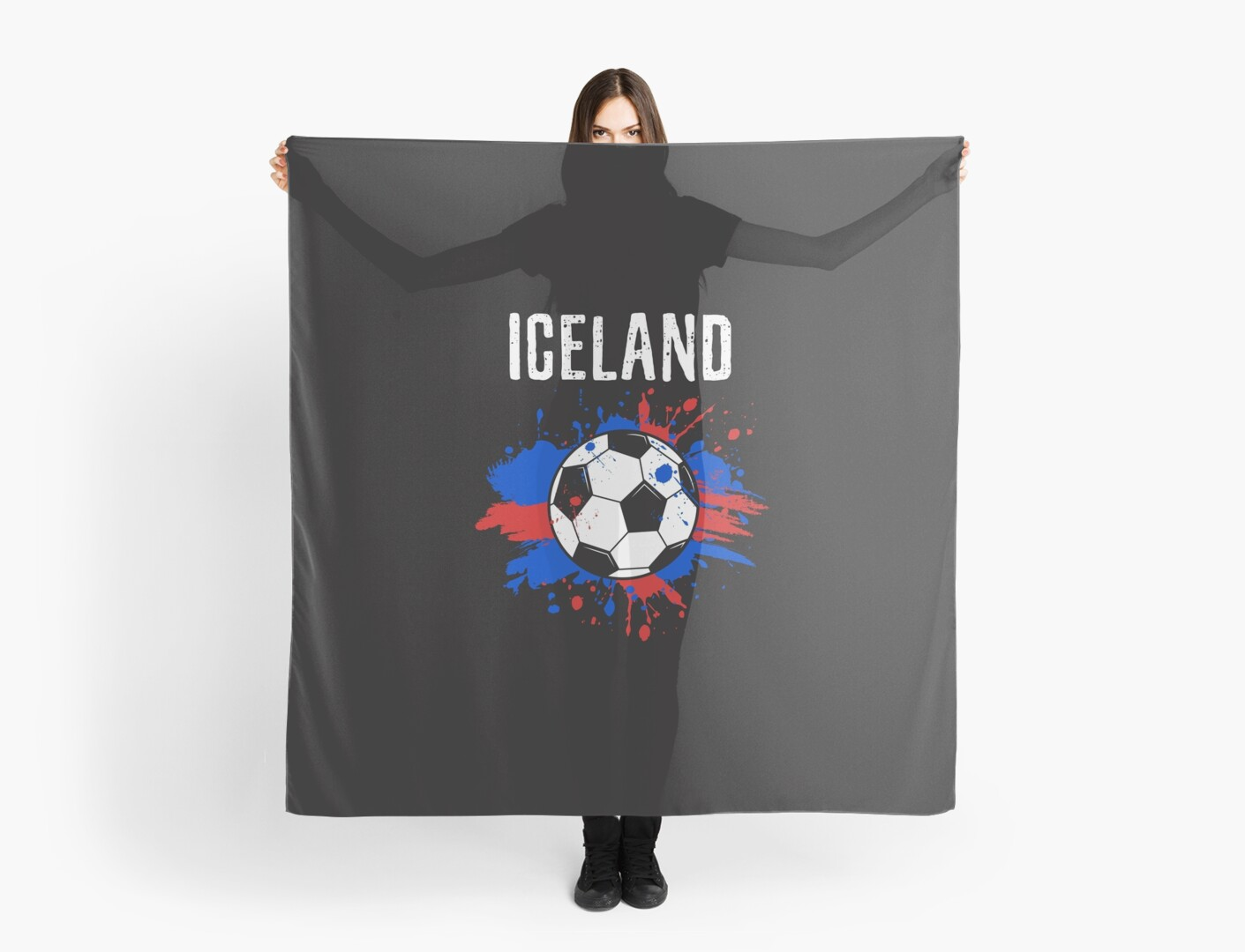 Iceland Soccer T-Shirt Fan Football Gift Cool Funny Quote - Iceland ...