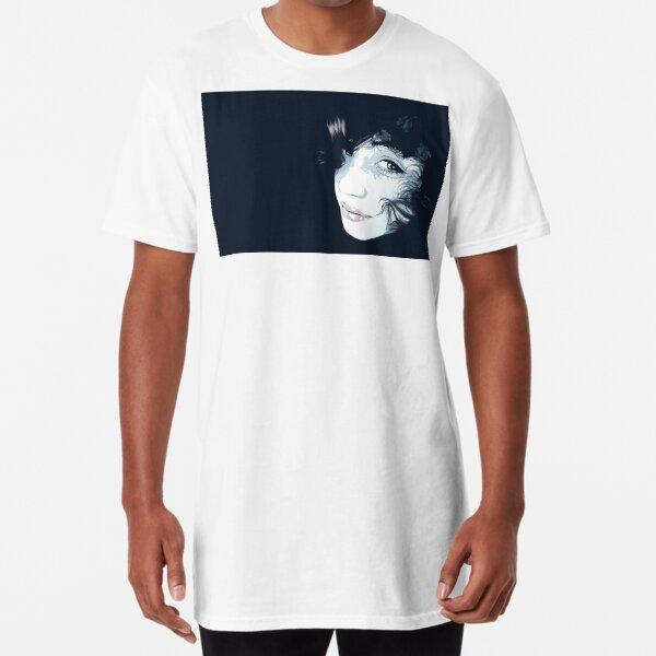 Deep Blue Long T-Shirt