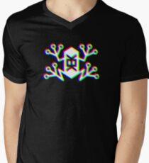Memetic Warfare KEK Frog -RGB- Men's V-Neck T-Shirt