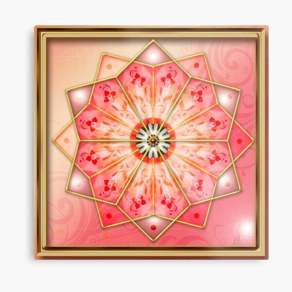 Archangel Ariel Mandala Metal Print