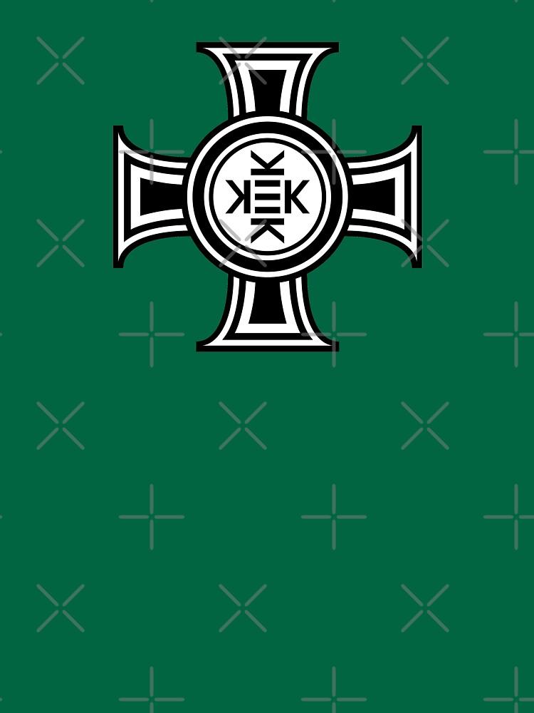 Kekistani Cross by HellFrog