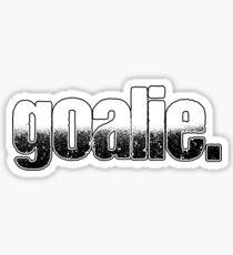 Goalie Goalkeeper Goalie Goalkeeper Sticker