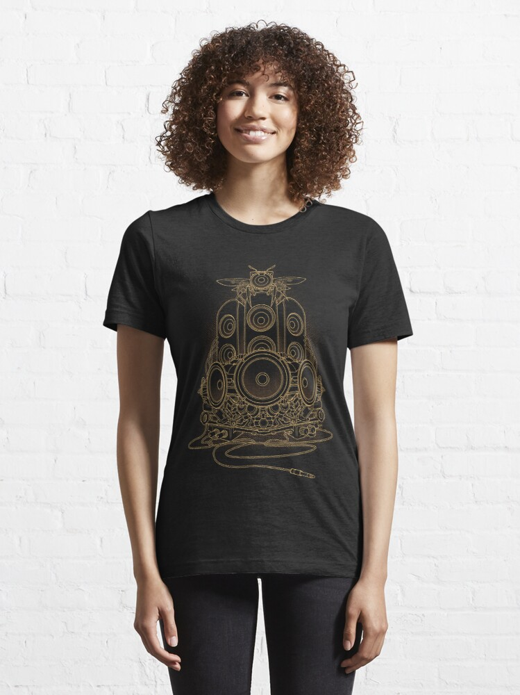 Alternate view of AudioHive - Natural Essential T-Shirt