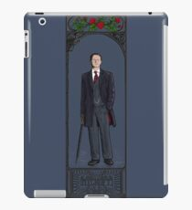 Mycroft Holmes iPad Case/Skin