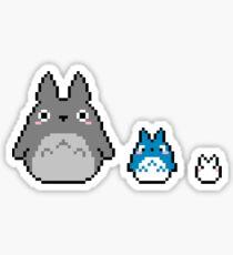 Pixel Totoros !! Sticker