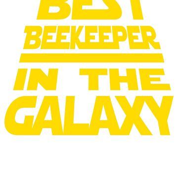 Best Bee Keeper in The Galaxy Beekeeper  by CrazyWebs
