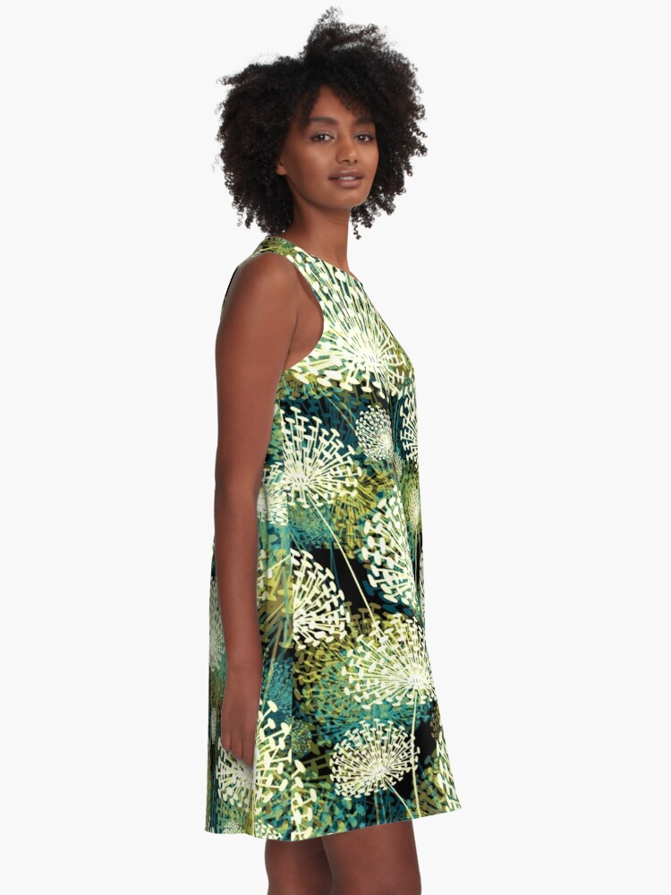 Alternate view of Dandelions A-Line Dress