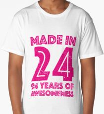 94th Birthday Gift Adult Age 94 Year Old Women Womens Long T Shirt