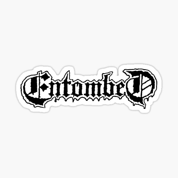 Entombed Sticker