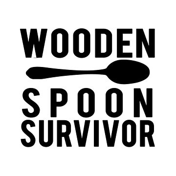 Wooden spoon survivor - Black version by Kristofsche