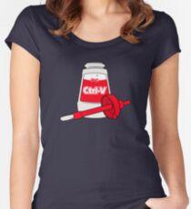 Nerd Paste Women's Fitted Scoop T-Shirt