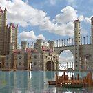 Fantasy Castle by Marc  Mons