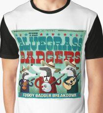 The Bluegrass Badgers Graphic T-Shirt