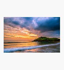 Sunrise at Cabarita Beach Photographic Print