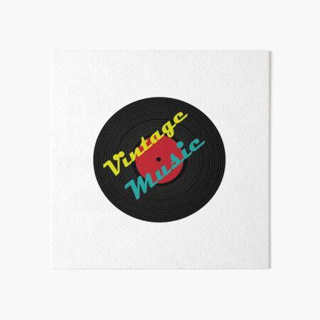 Vintage Music Galeriedruck