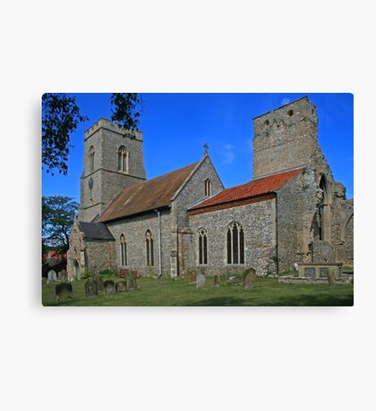 All Saints, Weybourne Canvas Print