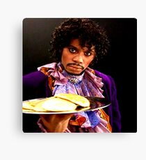 Y'all b*tches want pancakes? Canvas Print