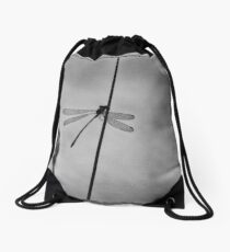 """Waiting"" (B&W) Drawstring Bag"