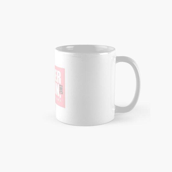 Pink Dunder Mifflin Logo Classic Mug