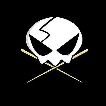 Yoko Skull & Cross by simonbreeze