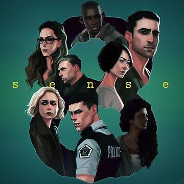 Sense8 Art by BenjiEasy