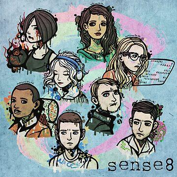 Sense8 fan art by BenjiEasy