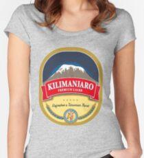 Camiseta entallada de cuello ancho Kilimanjaro Lager