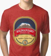 Kilimanjaro Lager Tri-blend T-Shirt