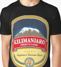 Kilimanjaro Lager Graphic T-Shirt