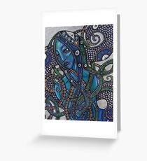 Melusine Greeting Card