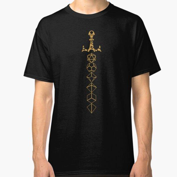 Dice Set Sword Tabletop RPG Gaming Classic T-Shirt