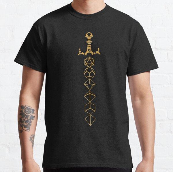 Würfel Set Schwert Tabletop RPG Gaming Classic T-Shirt
