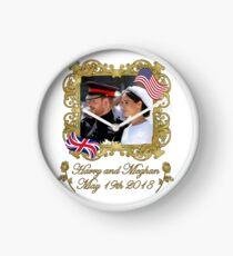 Prince Harry and Meghan Markle Royal Wedding Clock