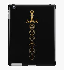 Dice Set Sword Tabletop RPG Gaming iPad Case/Skin