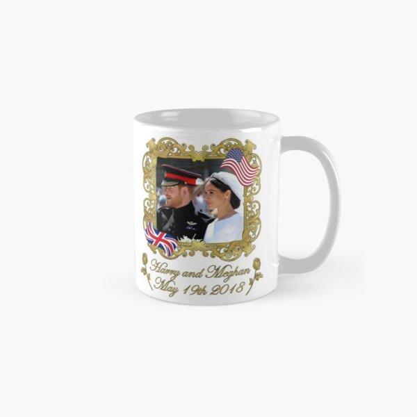 Prince Harry and Meghan Markle Royal Wedding Classic Mug