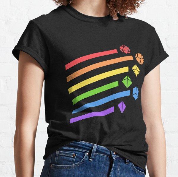 Rainbow Dice Set Tabletop RPG Gaming Classic T-Shirt
